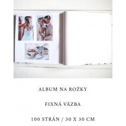 Fotoalbum na rožky s menovkou