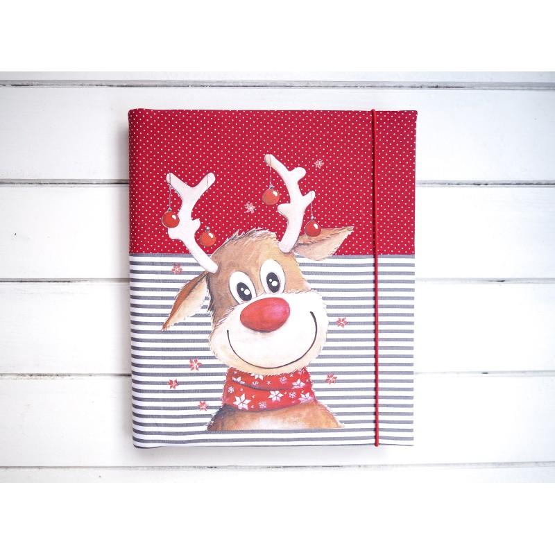 samolepiaci Vianočný fotoalbum so sobom