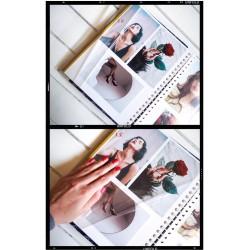 samolepiaci fotoalbum s dievčaťom