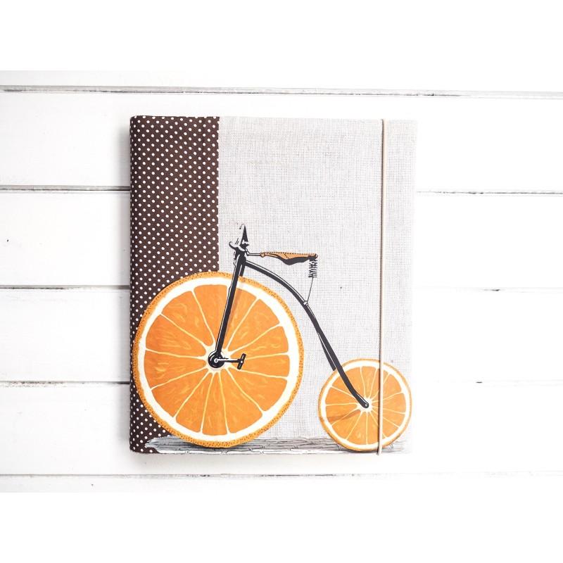 Samolepiaci fotoalbum pre muža s bicyklom