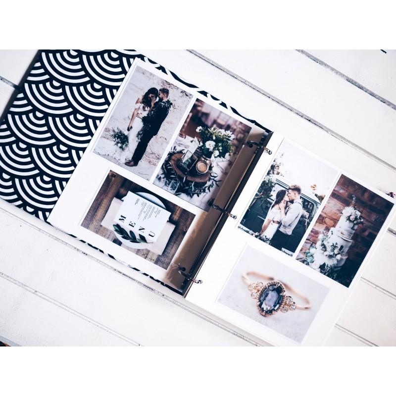 samolepiaci svadobný fotoalbum
