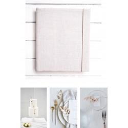 samolepiaci fotoalbum v jednoduchom minimalistickom štýle z plátna