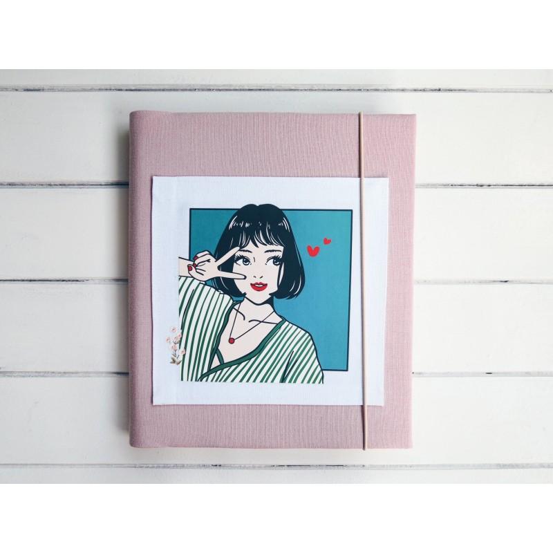 dievčenský fotoalbum