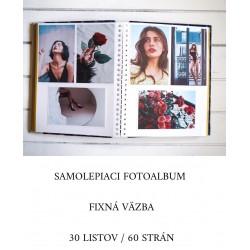 Samolepiaci fotoalbum na polaroidy