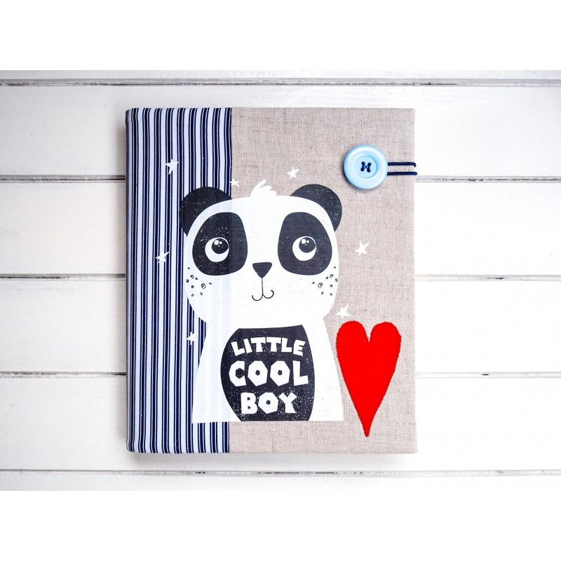 detský album s pandou pre chlapca