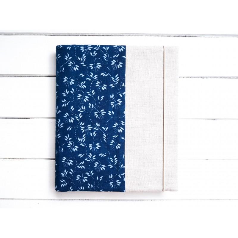 jednoduchý fotoalbum z modrotlače
